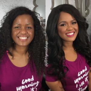 before and after by jenny torry makeup